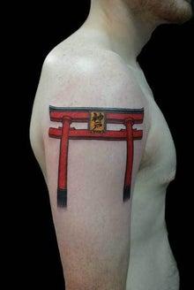 鳥居 タトゥー TATTOO 刺青