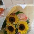 ヒマワリの花束~送別…