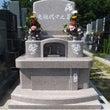 桜色のデザイン墓石