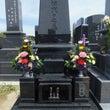 両家墓の和洋折衷型墓…