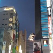 夜の新宿・・・