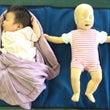 乳幼児救命講習へ