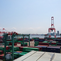 大阪港視察と和歌山で…