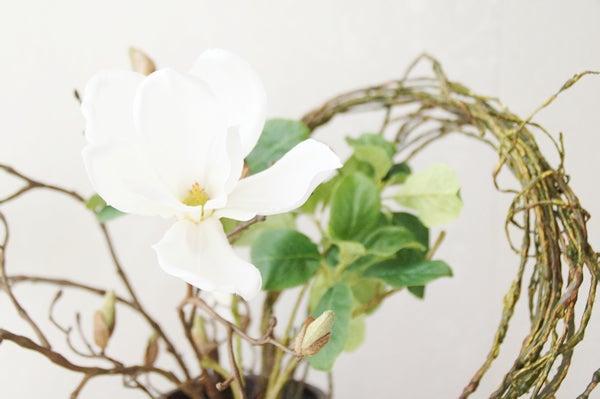 モクレンの造花