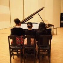 ピアノの発表会日程決…
