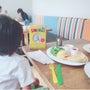 夏休み満喫中な4歳児…