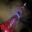 東京タワーのライトア…