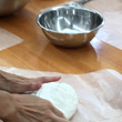 米粉の成形パン♪もち…