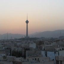 イランの夕暮れ