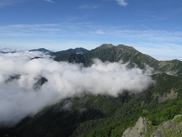 赤石岳遠望
