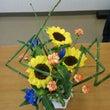 花市場で花育