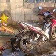 バリ島バイクの洗車が…