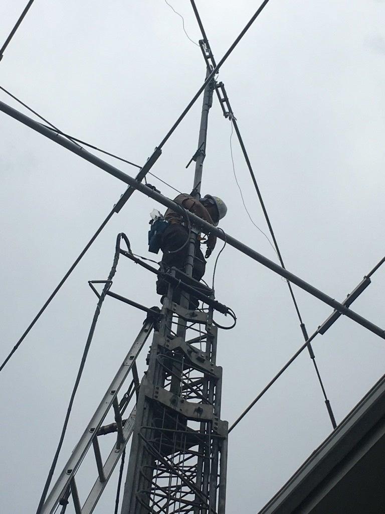 無線アンテナ工事
