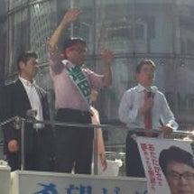 安倍総理、増田の応援…