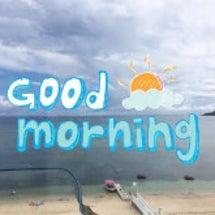 おはよう(=´∀`)…