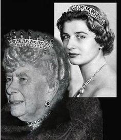 メアリー王太后のダイアモンドティアラ
