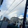 講座の帰り道・・・虹