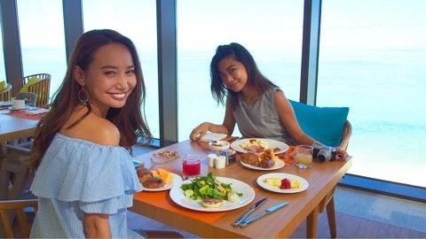 グアム旅行記⑤〜breakfast at AQUA〜