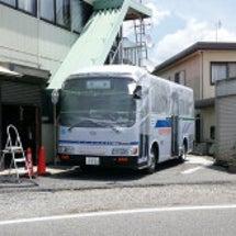 バスの屋根塗装(その…