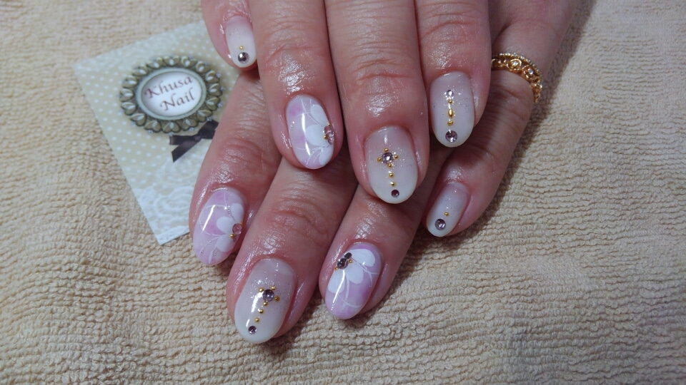 お花ネイル☆sapporo nail art