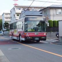 古いバス頑張ってます…