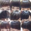 *様々な前髪カット*