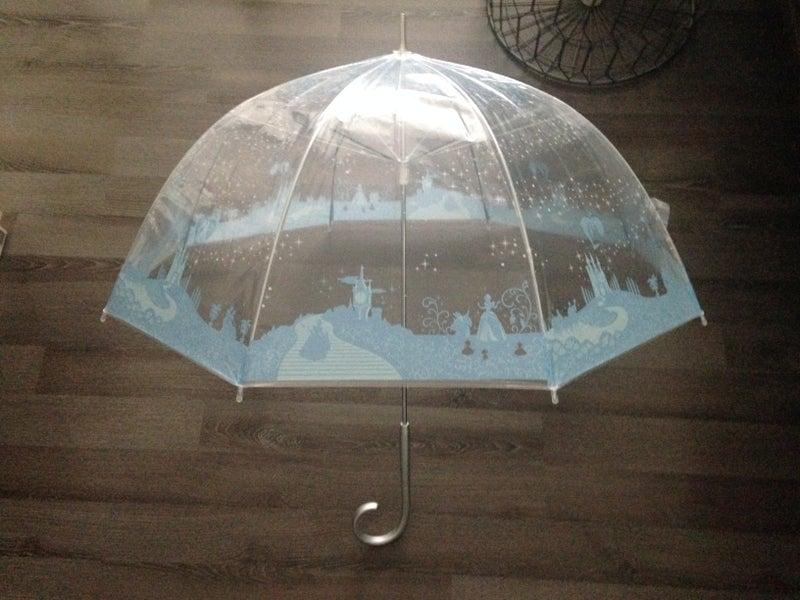 シンデレラのビニ傘
