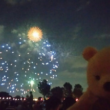 板橋の花火