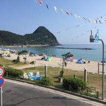 本日の竹野浜です