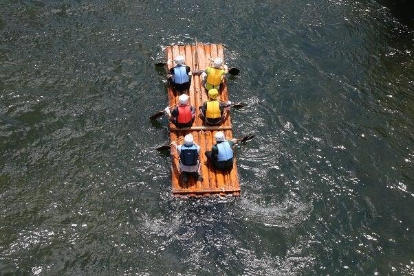 本山町・吉野川いかだ祭り
