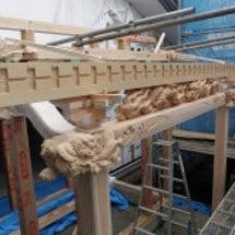 お寺の新築工事。その…