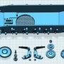 2号戦車の足回り制作