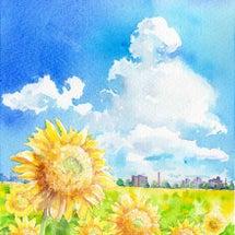 季節の風景8月号