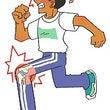 膝蓋骨の可動域制限