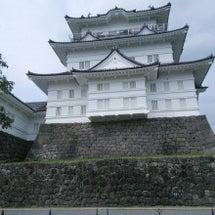 小田原城からの〜。
