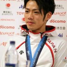 日本人初の銅メダル。