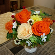 仏花のアレンジ