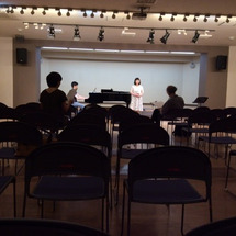 日本歌曲の演奏会終え…