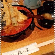 新宿で冷やし天丼食べ…