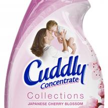 桜の香りの柔軟剤