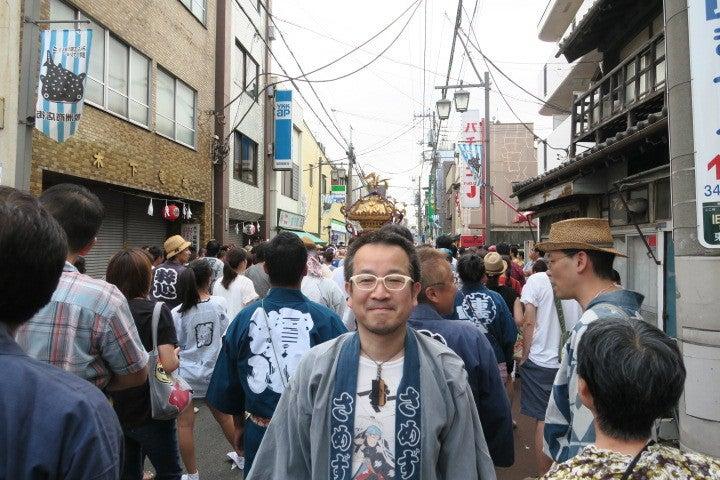 平成28年鮫洲八幡神社例大祭の芳雲