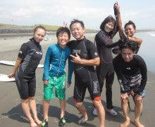 夏休みサーフィンスクール千葉女性