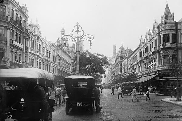 20世紀初めのリオデジャネイロ