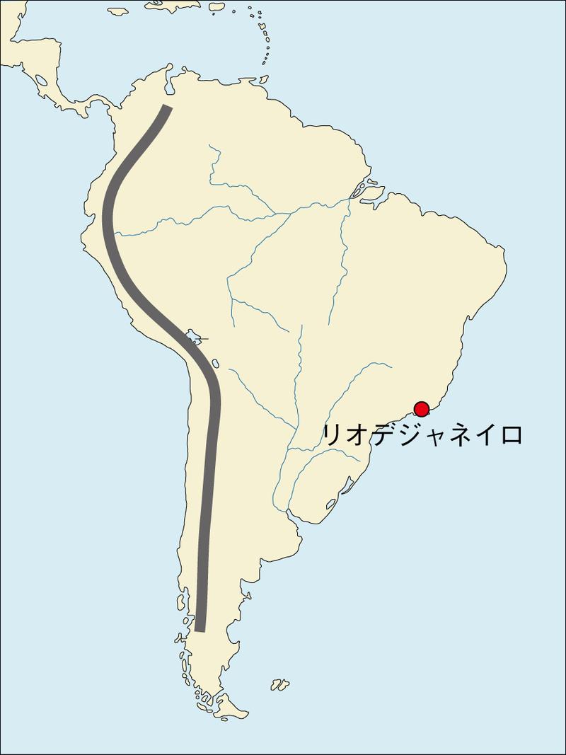 リオデジャネイロ 地図