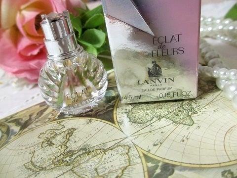 恋に効く香水の付け方と、ランバンの人気のフローラルブーケの香り♡