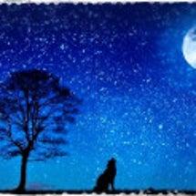 新月に向かう満月
