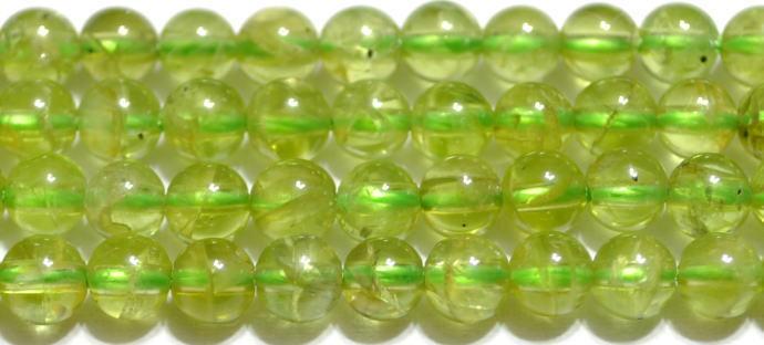 ペリドット丸玉3-4mm