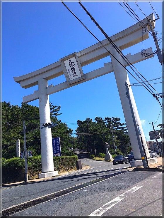 茨城県 大洗磯前神社 パワースポット 神社仏閣 鳥居