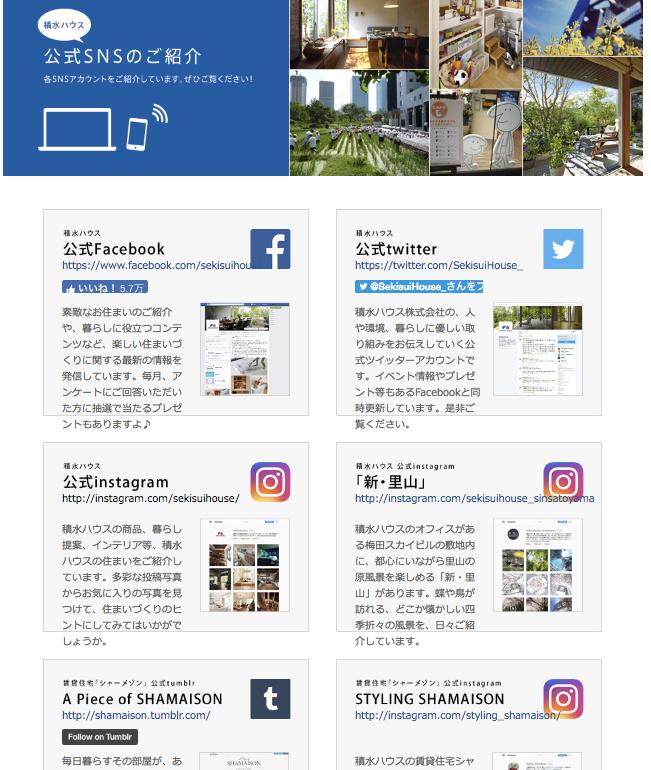 ホームページ,SNS紹介ページ,事例,藤田和美