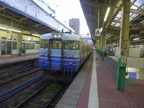 普通列車長岡行き